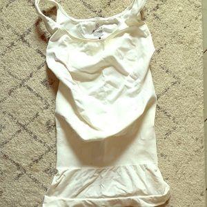 White Blanqi maternity tank top